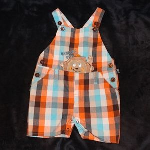 Other - 3 for $15 - Cute Monkey Shortalls - 24 months